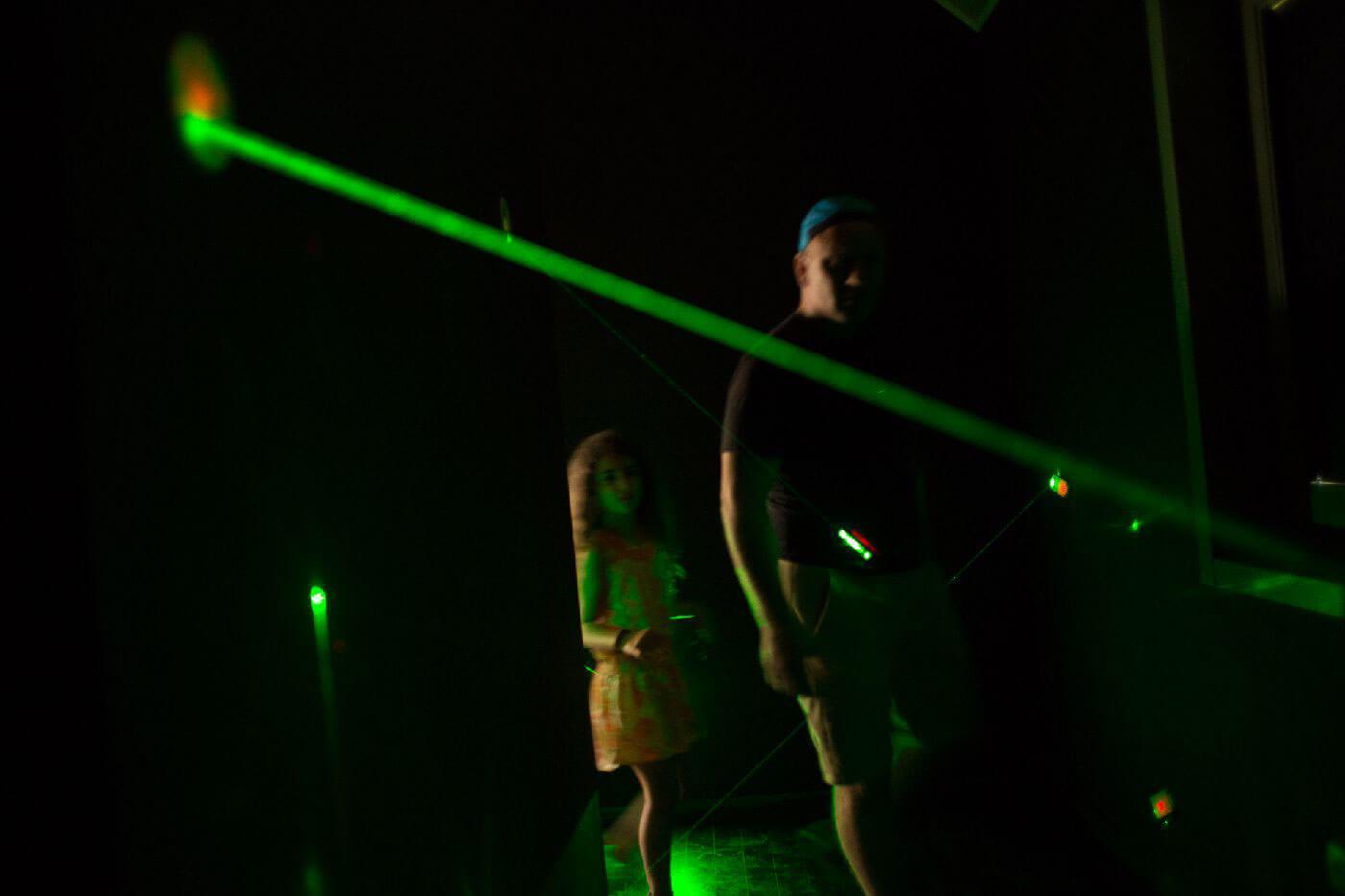 Labirintul cu Lasere